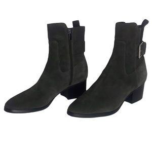 Via Spiga Gray Suede Boots